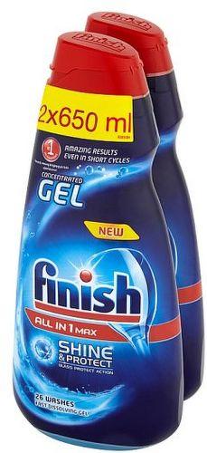 Finish Allin1 2x650 ml, Prostředek do myčky