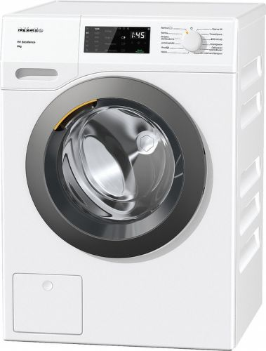 MIELE WED 135, bílá pračka plněná zepředu