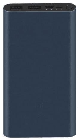 Xiaomi Mi powerbanka 18 W 10 000 mAh, černá