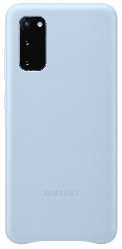 Samsung Leather Cover pouzdro pro Samsung Galaxy S20, modrá