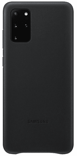 Samsung Leather Cover pouzdro pro Samsung Galaxy S20+, černá