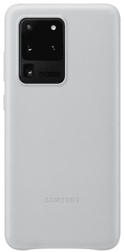 Samsung Leather Cover pouzdro pro Samsung Galaxy S20 Ultra, světle šedá