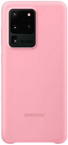 Samsung Silicone Cover pro Samsung Galaxy S20 Ultra, růžová