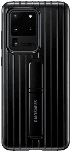 Samsung Protective Standing Cover pro Samsung Galaxy S20 Ultra, černá