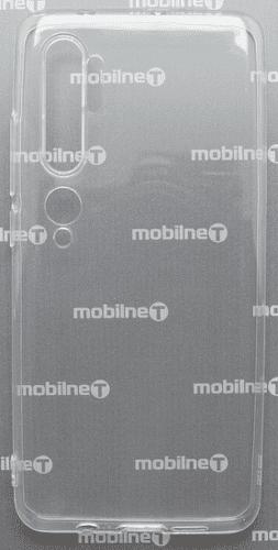 Mobilnet silikonové pouzdro pro Xiaomi Mi Note 10, transparentní
