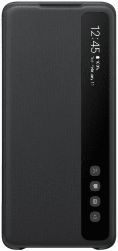 Samsung Clear View Cover pro Samsung Galaxy S20+, černá