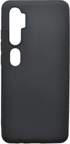 Mobilnet gumové pouzdro pro Xiaomi Mi Note 10 Pro, černá
