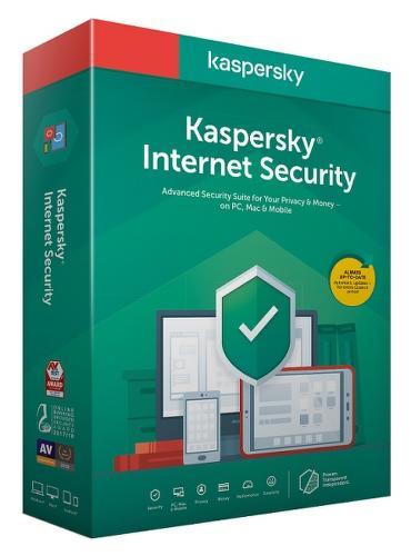Kaspersky Internet Security 2020 Obnova Box 3Z/1R