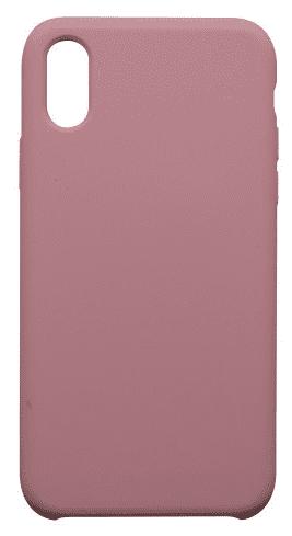 Mobilnet silikonové pouzdro pro Apple iPhone X, světle růžová