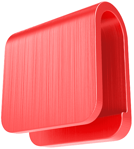 Easycover 613346 červená krytka