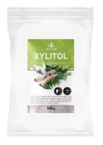 Allnature xylitol brezový cukor 500 g sladidlo