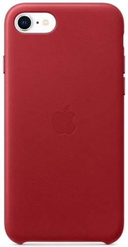 Apple kožené pouzdro pro Apple iPhone SE, (PRODUCT)RED