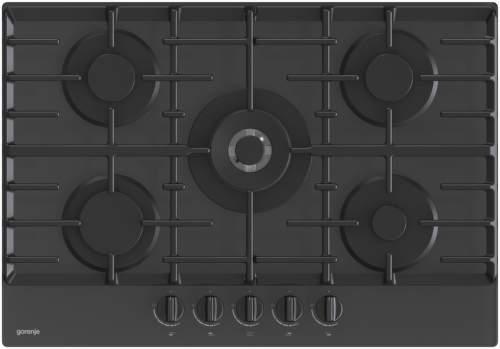 GORENJE GTW7C51B, černá plynová varná deska