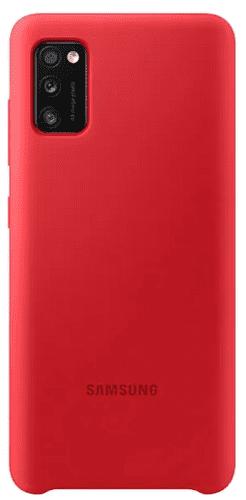 Samsung silikonové pouzdro pro Samsung Galaxy A41, červená