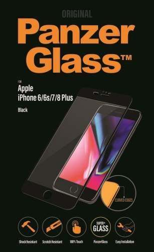 Panzerglass Premium tvrzené sklo pro Apple iPhone 8/7/6S/6 Plus, černá