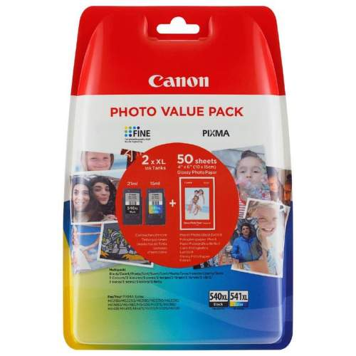 Canon Photo Value Pack CL-541XL/PG-540XL