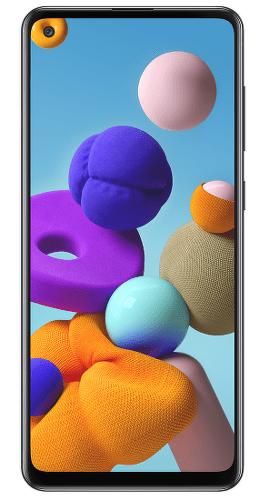 Samsung Galaxy A21s 64 GB černý