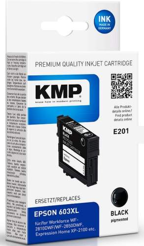 KMP E201 (Epson 603XL) Black