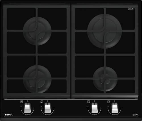 Teka GZC 64300, černá plynová varná deska