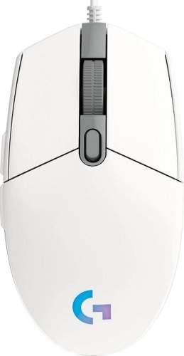 Logitech G102 Lightsync bílá
