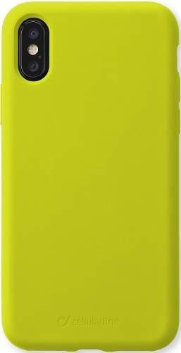 CellularLine Sensation silikonové pouzdro pro Apple iPhone 11 Xs Max, limetková