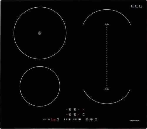 ECG EHI 7125, černá indukční varná deska