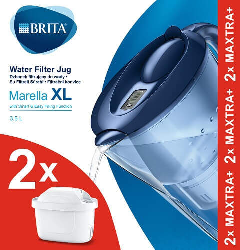 Brita Marella XL Memo modrá 3,5 l