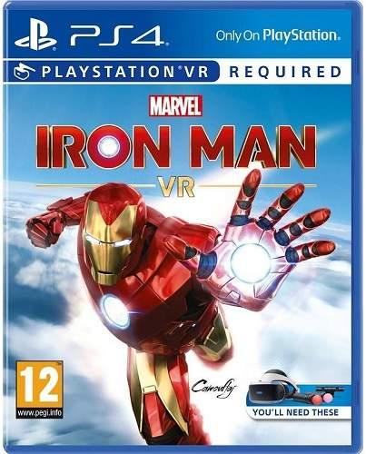 Marvel's Iron Man VR - PS4 hra