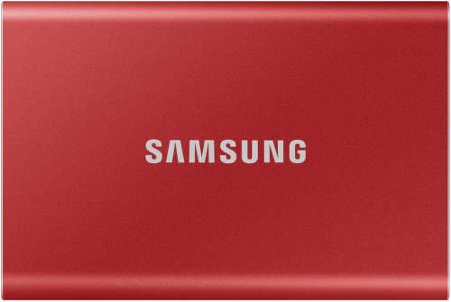 Samsung T7 1TB USB 3.2 červený