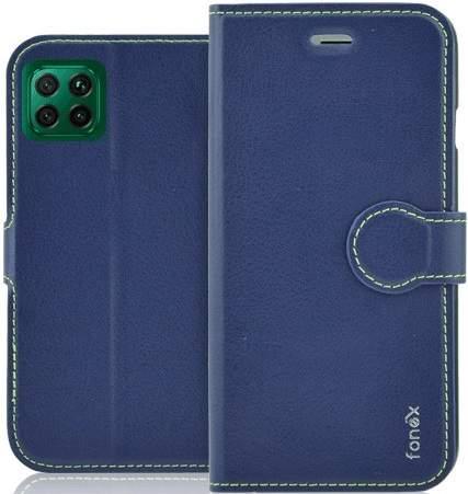 Fonex Identity flipové pouzdro pro Huawei P40 Lite, modrá