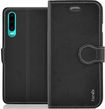 Fonex Identity flipové pouzdro pro Huawei P30, černá