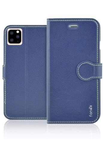 Fonex Identity flipové pouzdro pro Apple iPhone 11 Pro, modrá