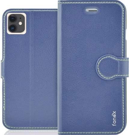 Fonex Identity flipové pouzdro pro Apple iPhone 11, modrá