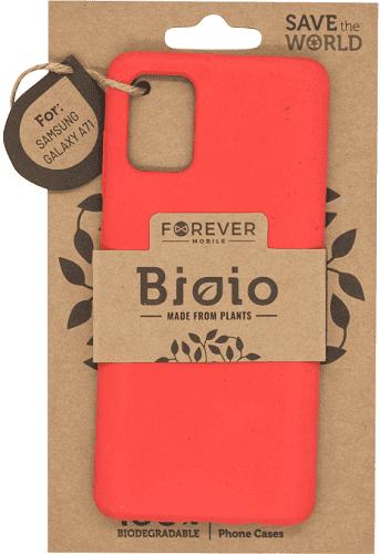 Forever Bioio pouzdro pro Samsung Galaxy A71, červená