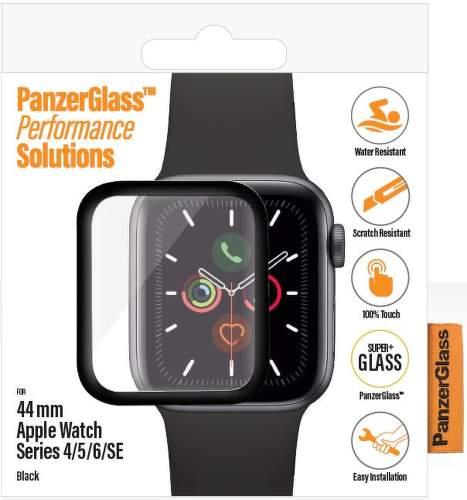 PanzerGlass ochranné sklo pro chytré hodinky Apple Watch SE/series 4 a 5 44 mm transparentní