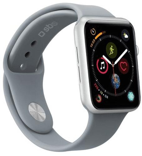 Sbs remienok pre Apple Watch 40 mm S/M bledosivá