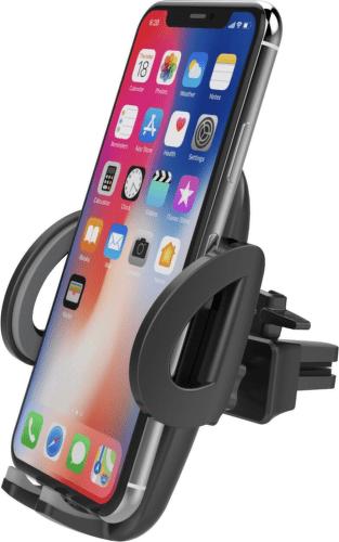 Philips držiak na mobil / Qi nabíjačka čierna