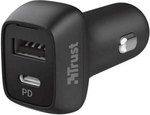 Trust Qmax 30W Ultra-Fast USB-C/USB PD černá