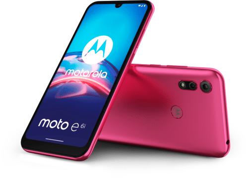 Motorola Moto E6i 32 GB ružovýPink_COMBO
