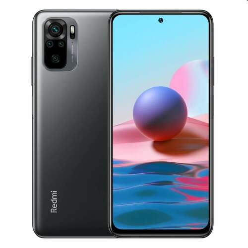Xiaomi Redmi Note 10 128 GB sivý