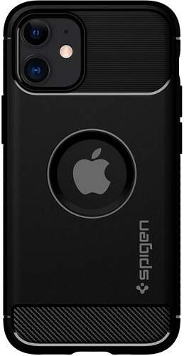 Spigen Rugged Armor pouzdro pro Apple iPhone 12 mini černá