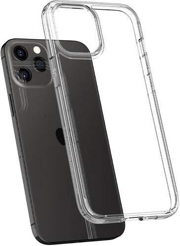 Spigen Ultra Hybrid pouzdro pro Apple iPhone 12/12 Pro transparentní