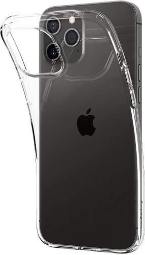 Spigen Liquid Crystal pouzdro pro Apple iPhone 12 Pro Max transparentní