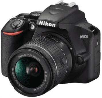 Nikon D3500 18-55 + brašna + SD karta