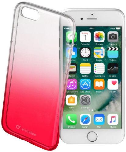 CELLULAR LINE Shadow iPh7 RED, Zadný kry_1