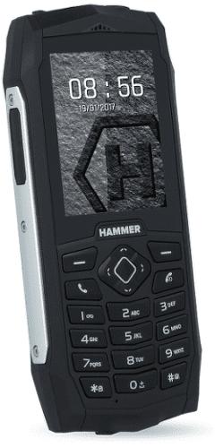 MyPhone Hammer 3 Plus stříbrný_01