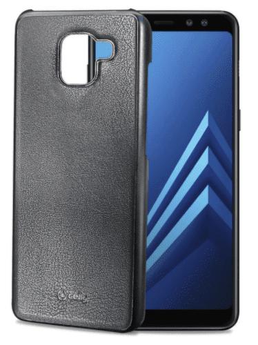 Celly Ghost pouzdro pro Galaxy A8 2018+, černé