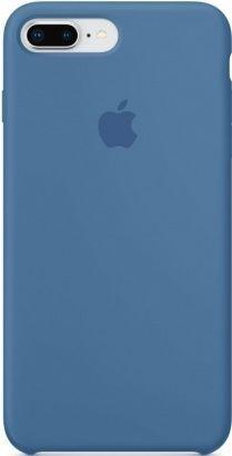 Apple silikonové pouzdro pro iPhone 8+/7+, modrá