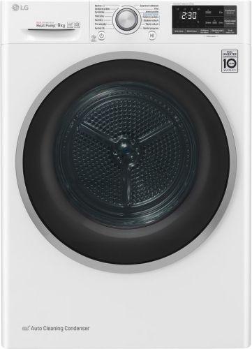 LG RC91U2AV3W, bílá smart sušička prádla