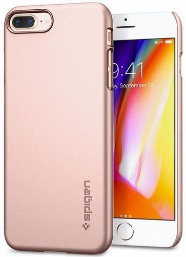 SPIGEN TF iPh 7+/8+ růžovo-zlaté